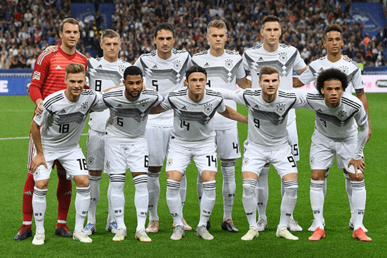 Die deutsche Fußballnationalmannschaft der Herren